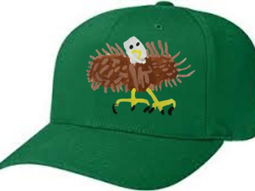 Bald Eagle Green Cap
