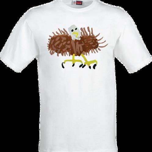 Bald Eagle White T-Shirt
