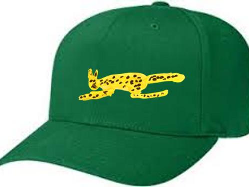 Cheetah Green Cap