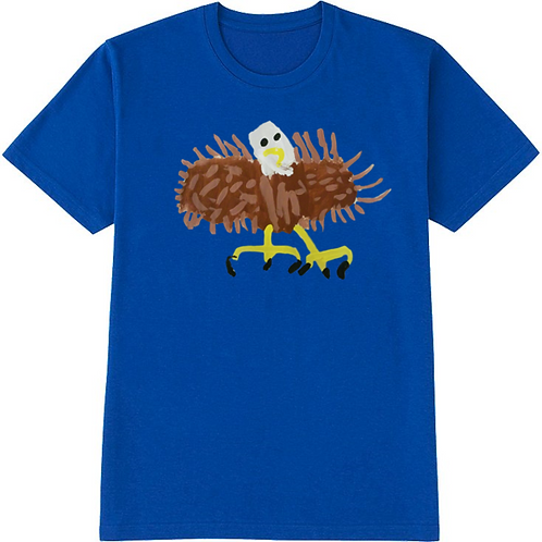 Bald Eagle Blue T-Shirt