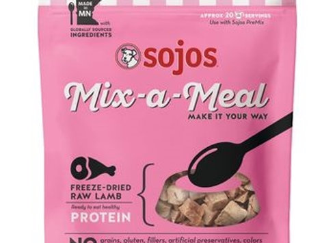 SOJOS DOG FREEZE-DRIED MIX-A-MEAL PROTEIN LAMB 8OZ