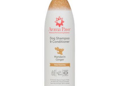 Dog Shampoo & Conditioner (Mandarin Ginger)