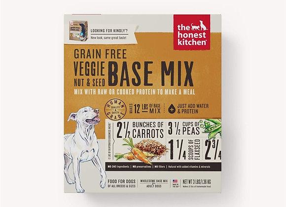 Honest Kitchen  Dog Grain Free Veg Nut Seed 3 Lbs. Box
