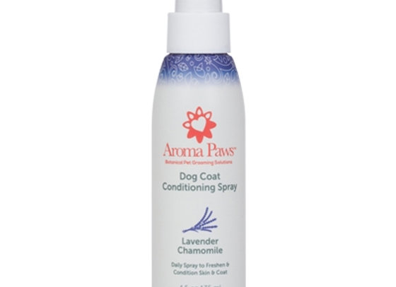 Lavender Chamomile Dog Coat Spray soothes and shines skin and coat, help restore PH balance