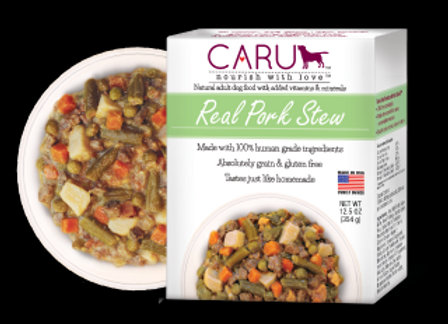 Caru  Dog Stew  Real Pork  12.5oz. (Case of 12)