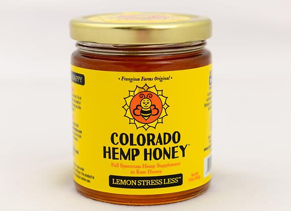 Colorado Hemp Honey, Lemon essential oil, with CBD, great supplements for both humans and dogs