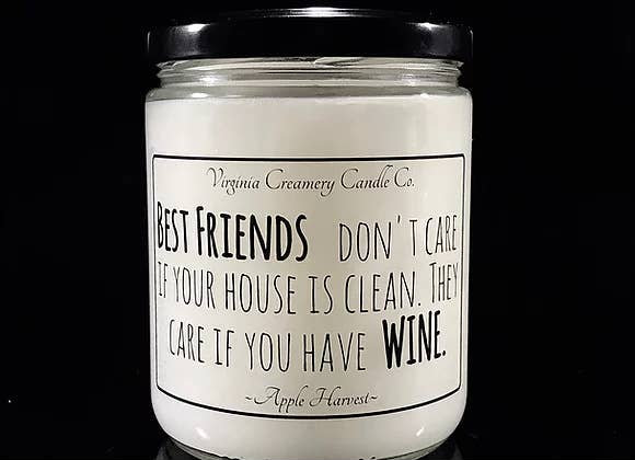 Virginia Creamery Company Best Friends Candle