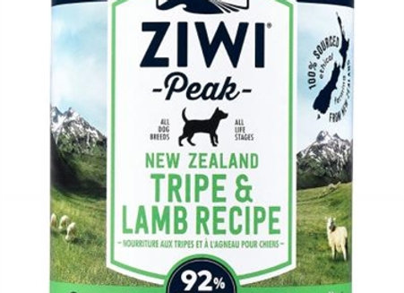 Ziwi Peak Dog Canned Food Tripe and Lamb 13oz (case of 12)