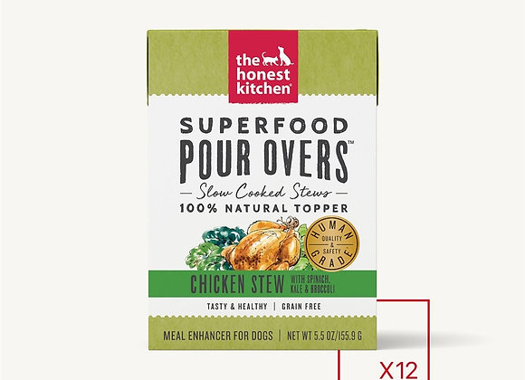 Honest Kitchen  Dog Pour Super Food  Chicken 5.5 oz.  (Case of 12)