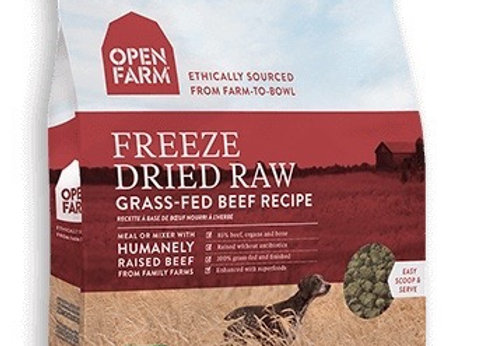 Freeze Dried Dog food, Grass fed beef, nutritious, antibiotic free, grain free, packed with superfoods,