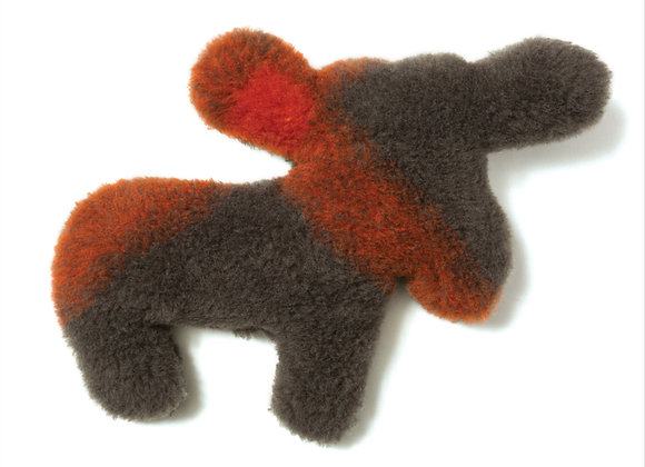 Moose Dog Toy, super soft and snuggle, with built in squeaker