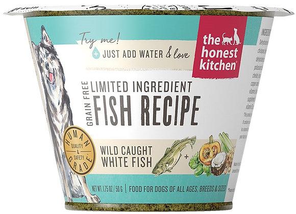 Honest Kitchen  Dog LID Grain Free Fish 1.75 oz.  Cup (Case of 12)