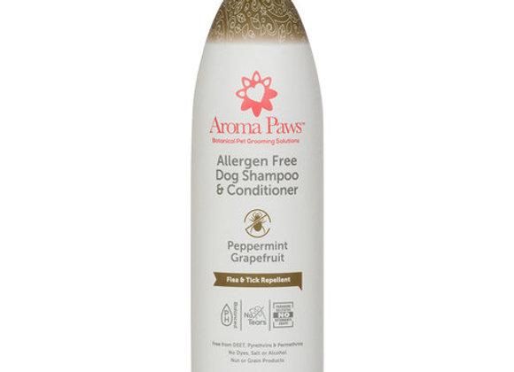 Allergen free Dog Shampoo & Conditioner (Pepermint Grapefruit)