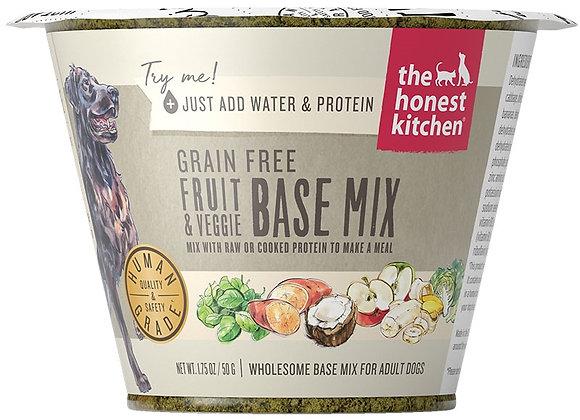 Honest Kitchen  Dog Grain Free Fruit  Veg 1.75 oz.  Cup (Case of 12)