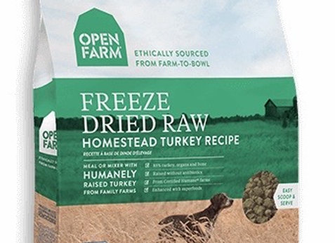 Freeze dried raw dog food, turkey meal, antibiotic free, all natural, nutritious, superfoods