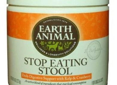 Earth Animal Stop Eating Stool 8oz.