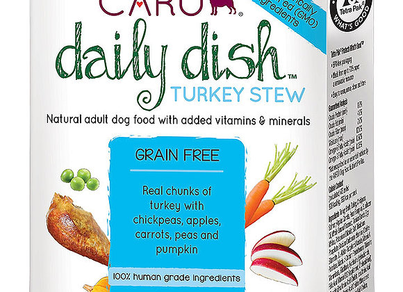 CARU DOG DAILY STEW TURKEY 12.5OZ