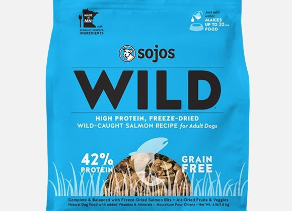 Sojo Dog Freeze Dried Wild Salmon 1 Lbs.