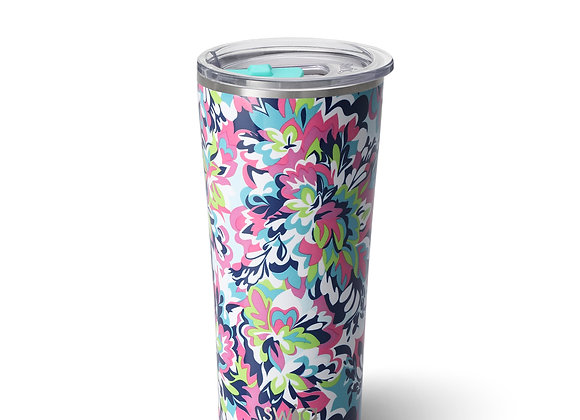 """""""Frilly Lilly"""" Insulated Hot/Cold Beverage Cup 32 oz"""