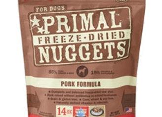 Primal Pet Foods Freeze Dried Dog Food 14 oz. Pork