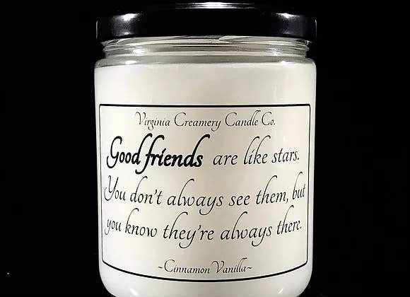 Virginia Creamery Candle Company Good Friends Candle