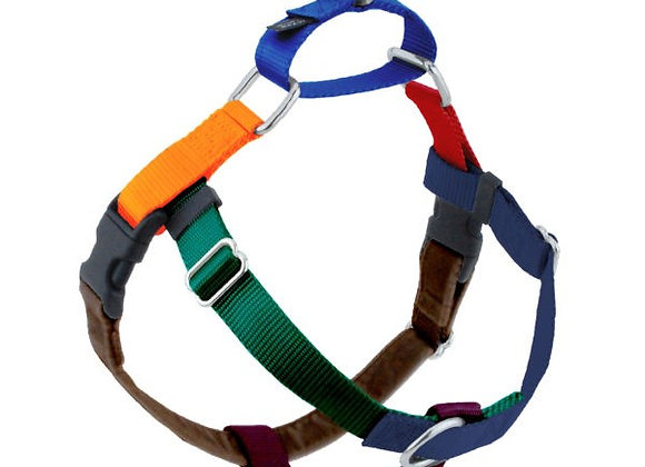Best EVER no-pull dog harness, complete control, two contact points, multiple configurations