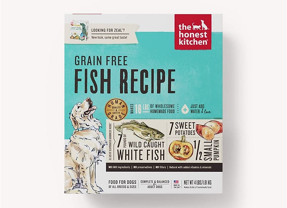 Honest Kitchen  Dog Grain Free Fish 4 Lbs. Box