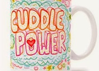 """Cuddle Power"" Gift Mug"
