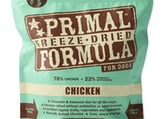 Primal Pet Foods Freeze Dried Food For Dogs 14 oz. - Chicken