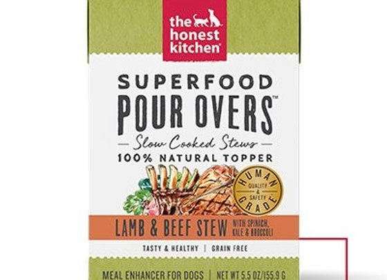 Honest Kitchen  Dog Pour Super Food  Lamb Beef  5.5 oz.  (Case of 12)