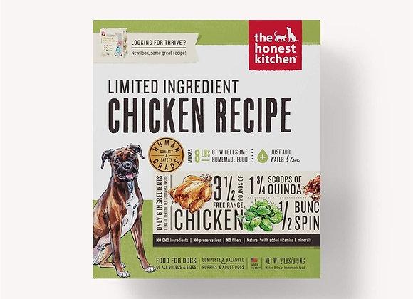 Honest Kitchen  Dog LID Chicken 2 Lbs. Box
