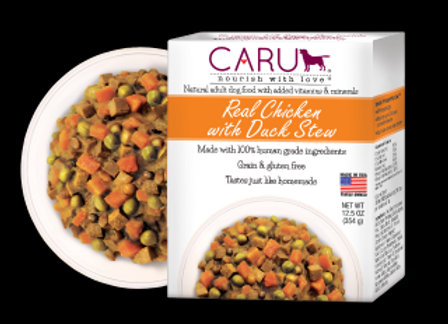 Caru  Dog Stew  Real Chicken Duck 12.5oz. (Case of 12)