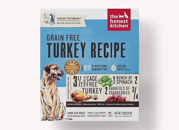 Honest Kitchen  Dog Grain Free Turkey 2 Lbs. Box