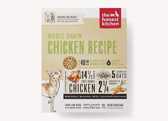 Honest Kitchen  Dog Whole Grain Chicken 10 Lbs. Box