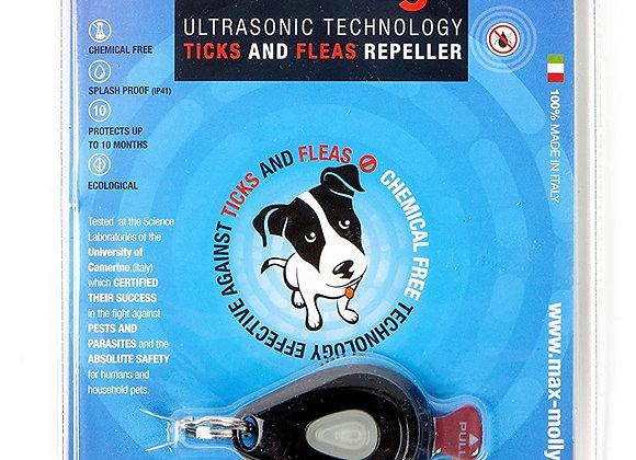 Zero Bugs, Ultrasonic Pet Flea and Tick Repeller