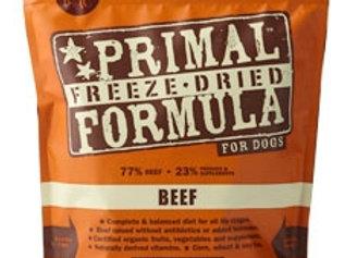 Primal Pet Foods Freeze Dried Dog  Food 5.5 oz.- Beef