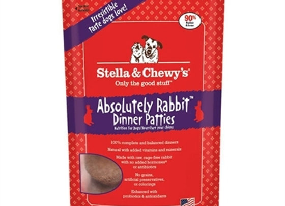Stella & Chewys Freeze Dried Dog Food-Rabbit 15oz
