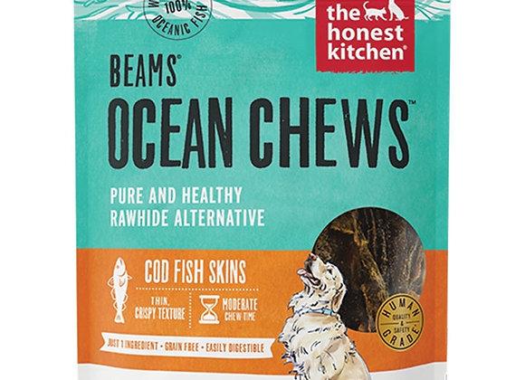 HONEST KITCHEN DOG BEAMS OCEAN CHEWS COD LARGE 5.5OZ