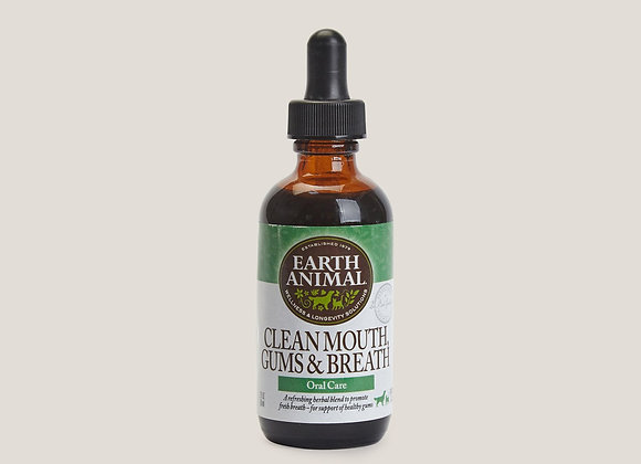 EARTH ANIMAL DOG CLEAN MOUTH 2OZ