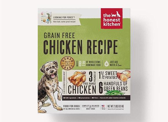Honest Kitchen  Dog Grain Free Chicken 2 Lbs. Box