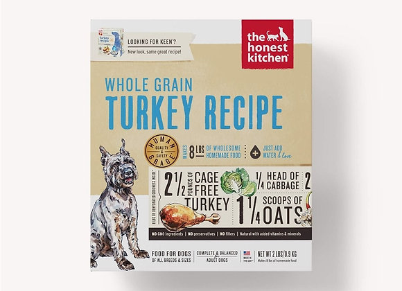 Honest Kitchen  Dog Whole Grain Turkey 2 Lbs. Box
