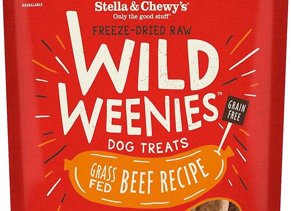 Stella & Chewys Dog Freeze Dried WEENIE Beef 3.25 oz.