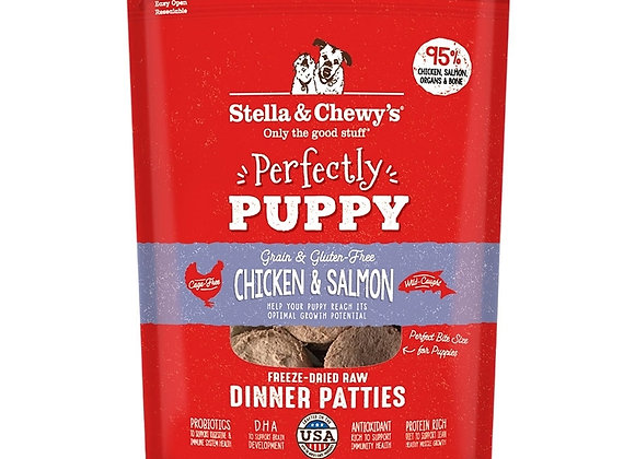 Stella & Chewys Dog Freeze Dried Puppy Chicken Salmon 5.5 oz.