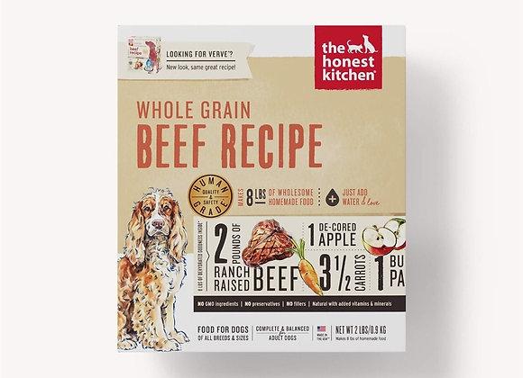 Honest Kitchen  Dog Whole Grain Beef  2 Lbs. Box