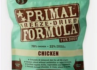 Primal Pet Foods Freeze Dried Dog  Food 5.5 oz.-Chicken