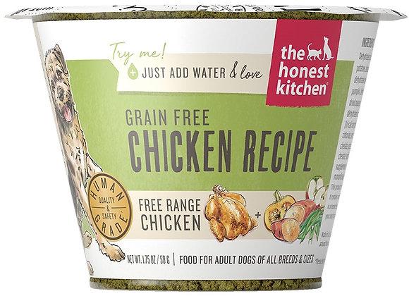 Honest Kitchen  Dog Grain Free Chicken 1.75 oz.  Cup (Case of 12)