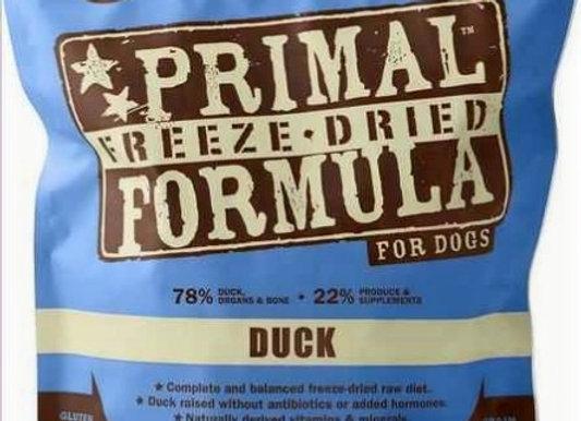 Primal Pet Foods Freeze Dried Dog  Food 14 oz. Duck