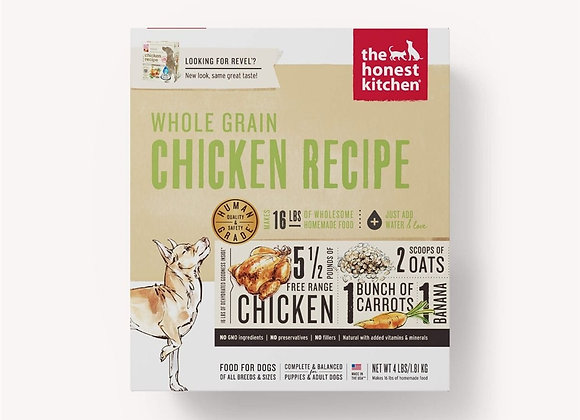 Honest Kitchen  Dog Whole Grain Chicken 4 Lbs. Box