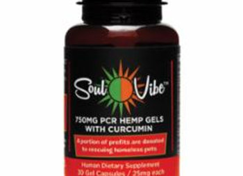 Soul Vibe 750 mg Hemp Extract Capsules for Humans