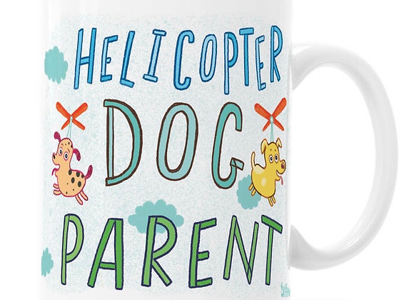 Helicopter Dog Parent Mug